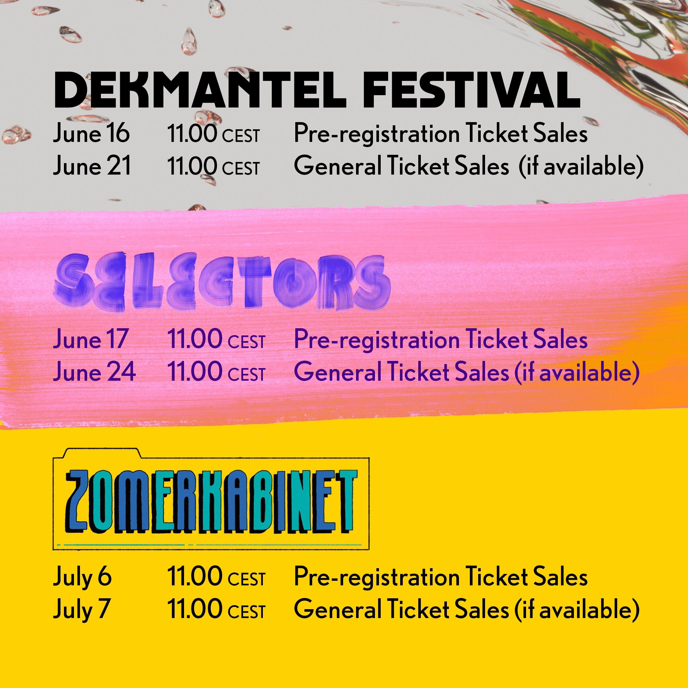 DEK Summer21 ticket sales CEST